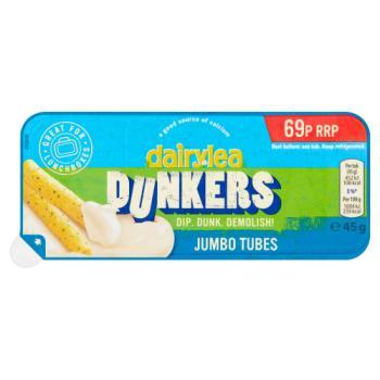 Dairylea Dunkers Jumbo Tubes 69p