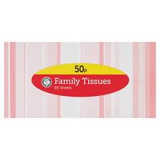 E/S FAMILY TISSUES 90 SHEETS