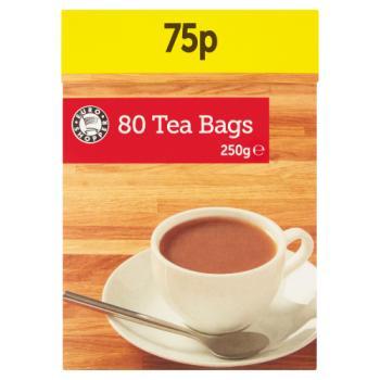 E/S Tea Bags 80s 250g
