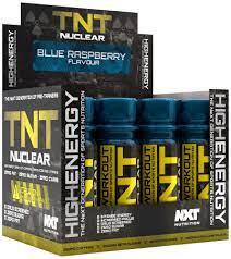 TNT PRE WORKOUT BLUE RASPBERRY 60ML