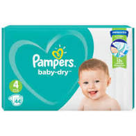 PAMPERS SIZE 4 (2×44 Packs)