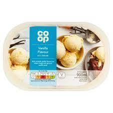 CO OP Vanilla Ice Cream 900ML