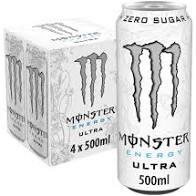 Monster Ultra White 4 Pack