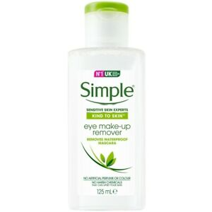 Simple Kind To Eyes Eye Make-Up Remover 125ml New