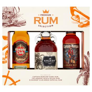 Premium Rum Selection 3 x 5cl
