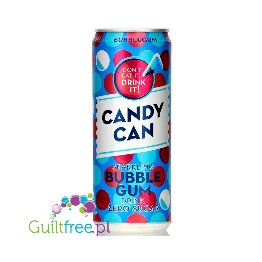 Candy Can Sparkling Bubble Gum Zero Sugar (EU)